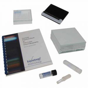 TLC Schnelltest-H-Trennkammer-Auftrageschablone-Mikrokapillare-Quicktest Set-120090-120091