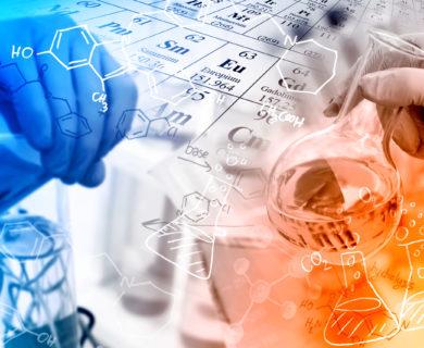 TLC-Überprüfung der Reinheit-Chemielabor-Checking purity-analytical methods-Separation-Identifizierung